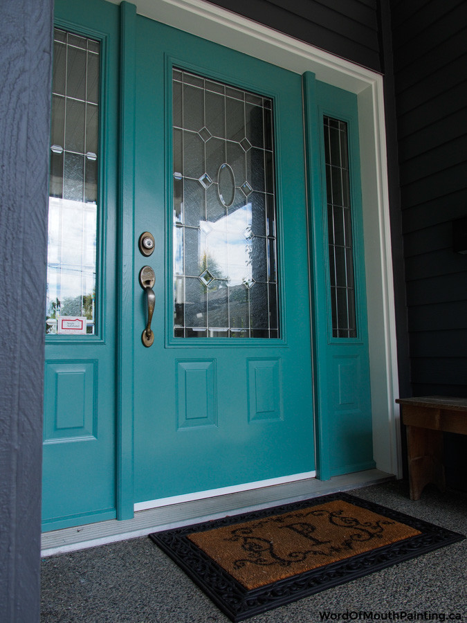 Benjamin Moore Antiqued Aqua In Cordova Bay Word Of